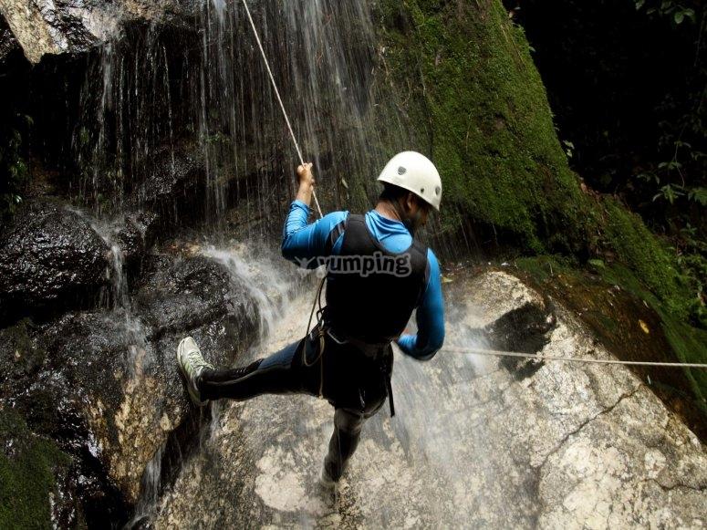 Canyoning nel Lerca