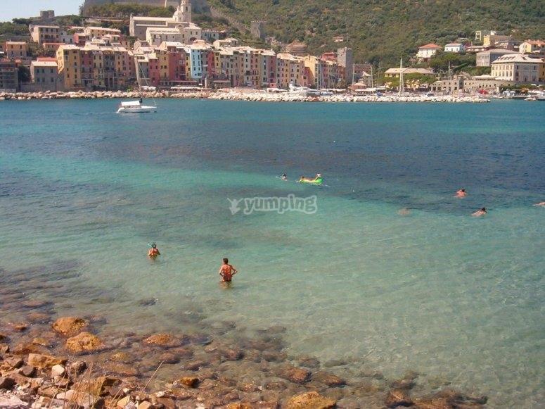 Le spiagge di Palmaria