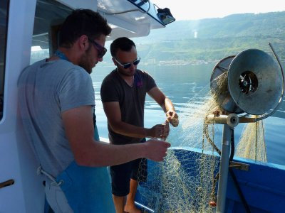 Fishing day by boat from Vibo Marina