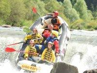 Rafting di 3 ore in Val di Fiemme Trento (adulti)