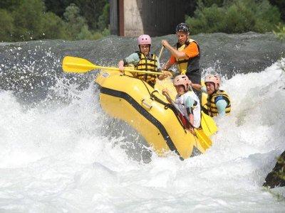 Rafting 3 ore in Val di Fiemme (bambini)