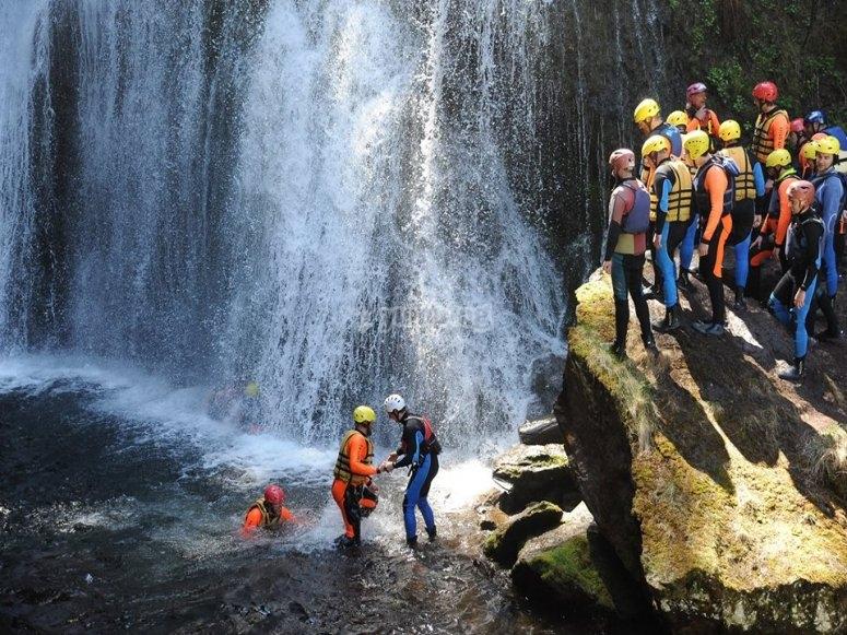 Le cascate da affrontare
