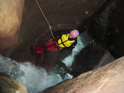 Canyoning nel Torrente Avisio, Val di Fiemme (3h)