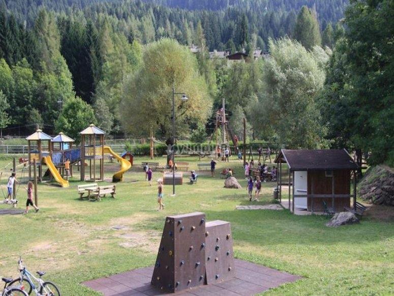 Il parco avventura