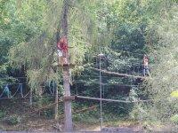 Percorso rosso (altezza min 1,40m) Ziano di Fiemme