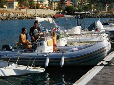 7 days BWA America dinghy rental in Bordighera