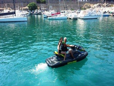 Jet ski with Riviera di Ponente license 6 hours