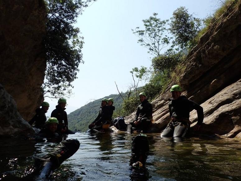 Una pausa nel fiume