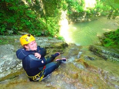 Canyoning Steep + Deep (6h), Tremosine