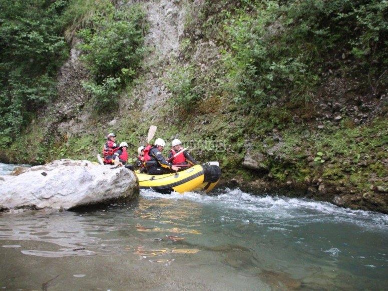 discesa rafting