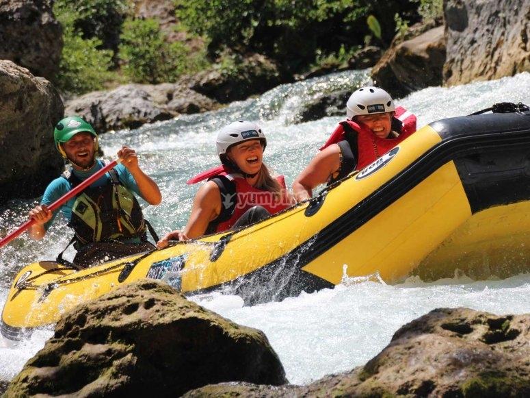 rafting che avventura