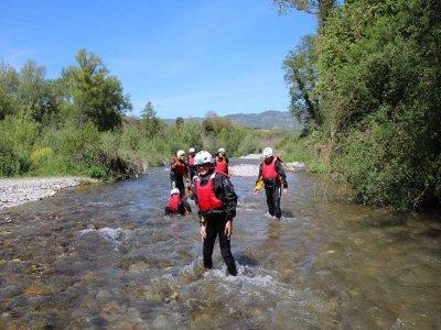River Walking+Rafting Laino (adulti)