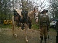 dopo un lungo trekking a cavallo
