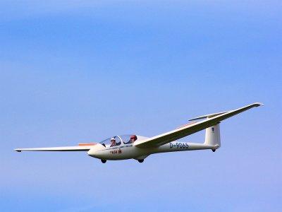 Volo in aliante in Valle d'Aosta (1h)