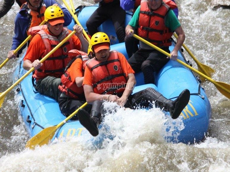 Un salto nel fiume