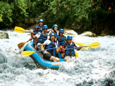 Rafting classico in Valle D'Aosta (1,20h)