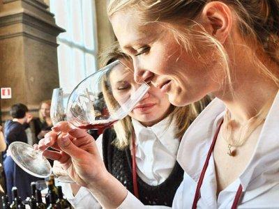Degustazione di vini tipici della Valle d'Aosta