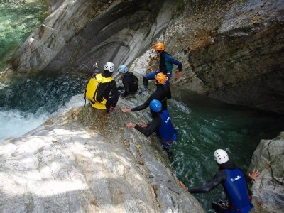Canyoning difficile in Val Bodengo (8h), Chiavenna