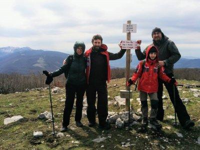 Ring Trekking on Mount Arioso (2h)
