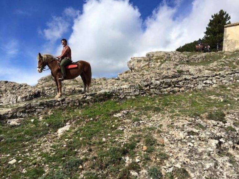 Basilicata on horseback