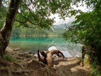 Il lago di Tovel, parco Adamello del Brenta