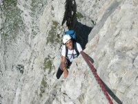 Arrampicata nelle Dolomiti