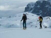 Trekking nella neve