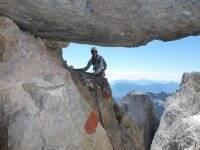 In arrampicata