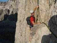 Arrampicata - Dolomiti di Brenta - Campanile Basso