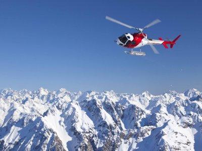 Volo in elicottero di 15 minuti, Aosta