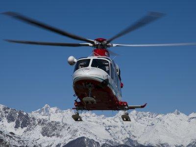 Volo in elicottero di 45 minuti, Aosta