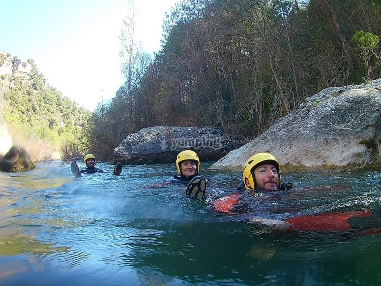 Canyoning in compagnia