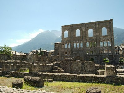 Visita guidata ad Aosta per gruppi (2,5h)