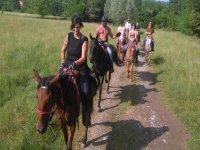 Passeggiata a cavallo di tre ore, Avigliana