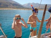 Giornata in barca a vela a Palermo (bambini)