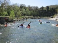 Scoprire il fiume in canoa