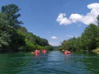 kayak sull'arno