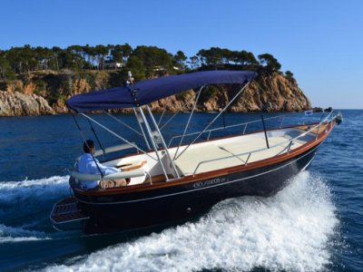 Giornata in barca a Capri sul Gozzo Sorrentino
