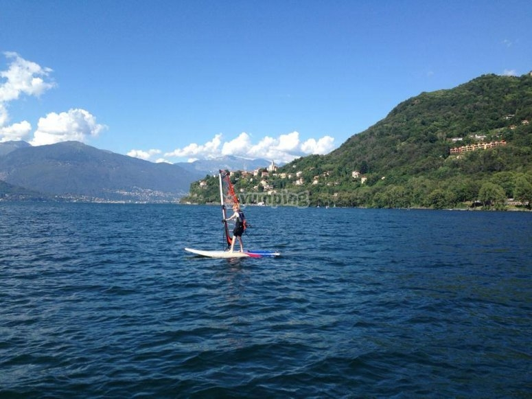 Lezioni di windsurf a Tronzano