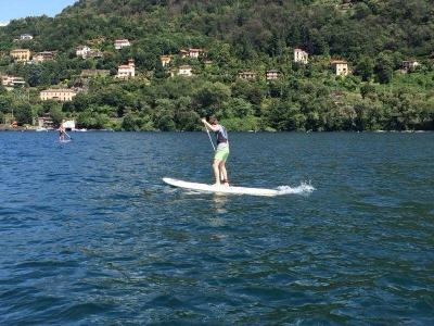 Noleggio stand up paddle sul Lago Maggiore 1 ora