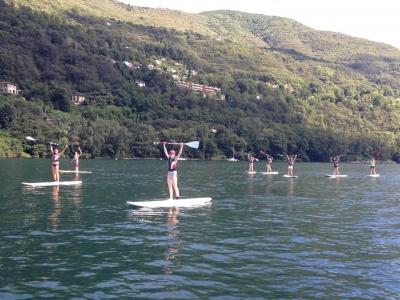 Noleggio stand up paddle (3h), Lago Maggiore