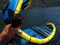 Corso di un'ora Kitesurf sul Lago Maggiore