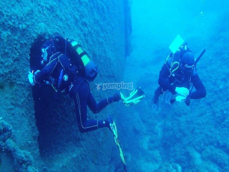 scoprendo il fondo del mare