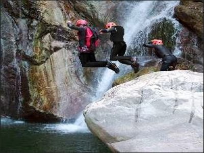 Guida Alpina Stefano Michelazzi Canyoning
