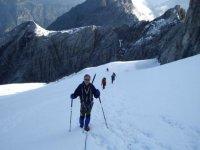 High mountain expedition