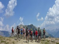 MTB group in the mountains