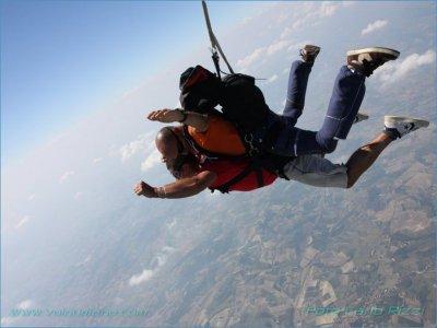 Lancio in paracadute (solo ven), Casale Monferrato