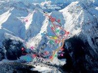 La mappa delle piste