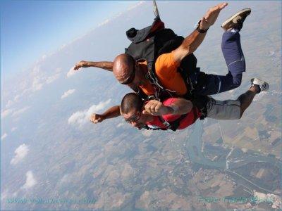 Lancio paracadute e video (solo ven) Monferrato