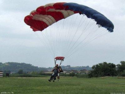 Lancio in Paracadute + foto (weekend), Monferrato